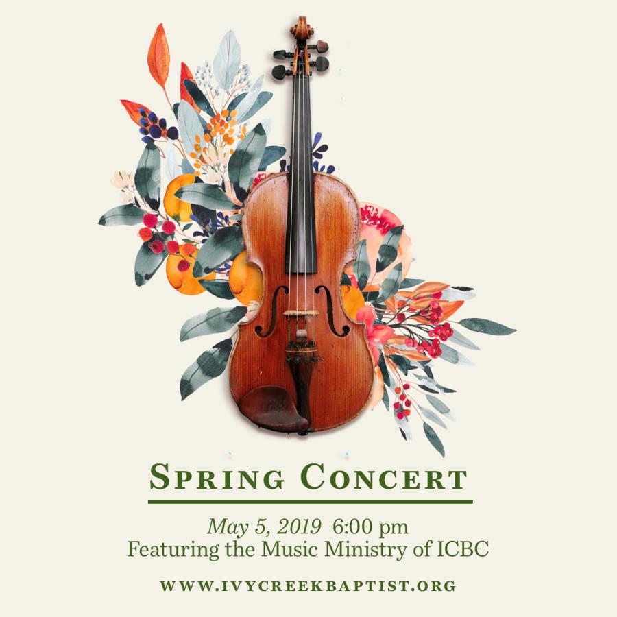 Ivy Creek Spring Concert