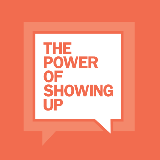 just show up logo