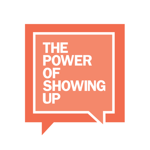 The Power of Showing up logo